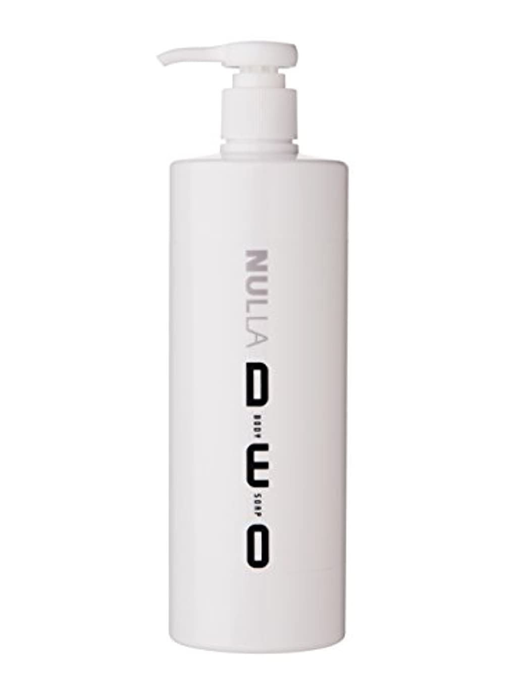 店員熱心な傾向があるNULLA(ヌーラ) ヌーラデオ ボディソープ [ニオイ菌を抑制] 500ml 日本製 加齢臭 体臭 対策 シャボンの香り