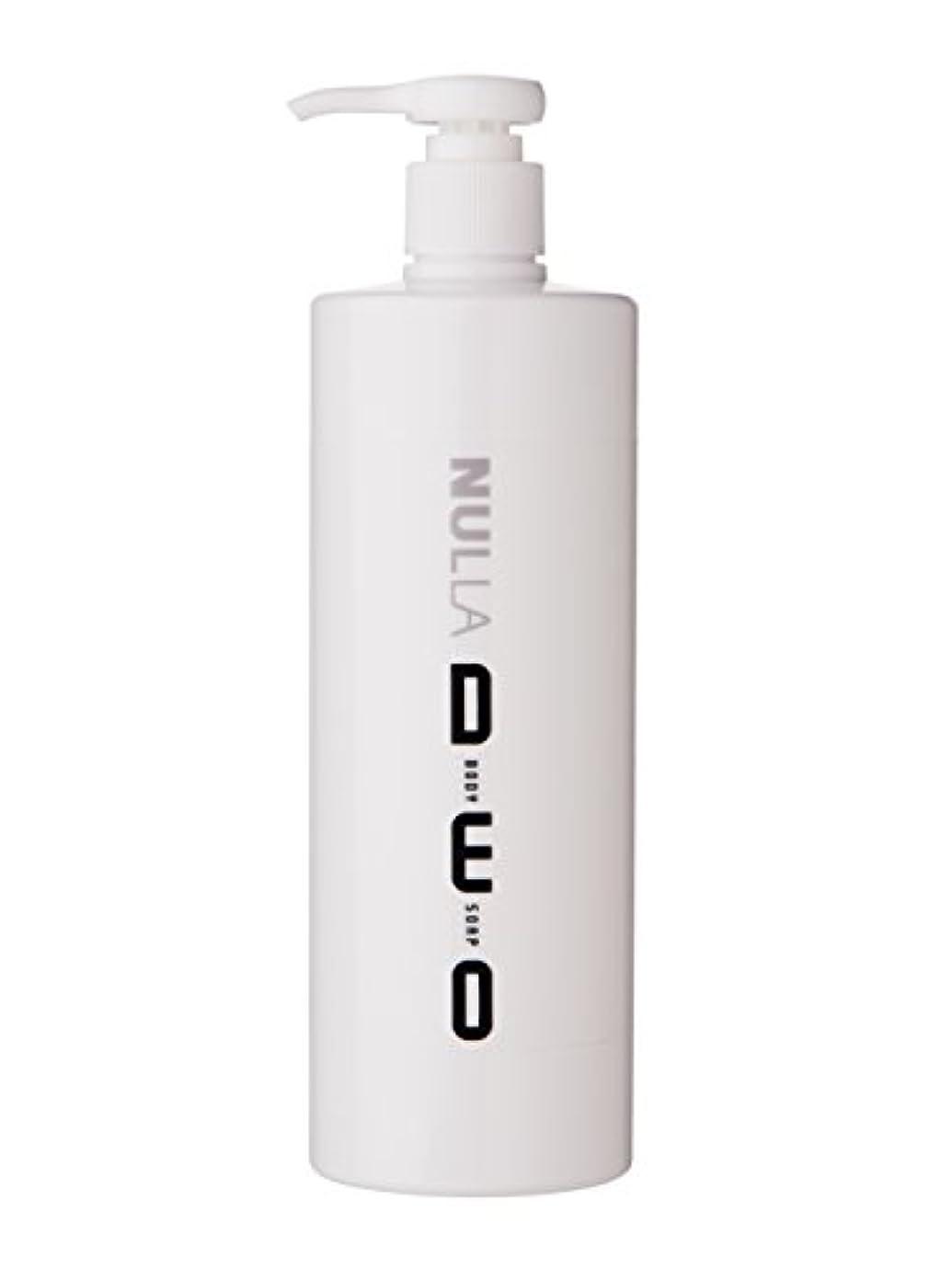 取る出発するオッズNULLA(ヌーラ) ヌーラデオ ボディソープ [ニオイ菌を抑制] 500ml 日本製 加齢臭 体臭 対策 シャボンの香り