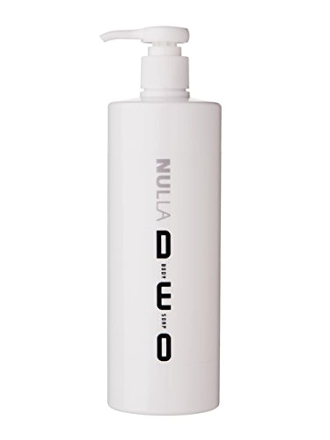 ワックスなので助けてNULLA(ヌーラ) ヌーラデオ ボディソープ [ニオイ菌を抑制] 500ml 日本製 加齢臭 体臭 対策 シャボンの香り