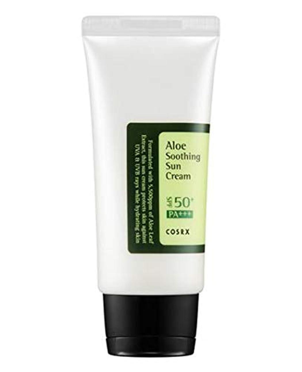 凍結フラッシュのように素早く先見の明COSRX Aloe Soothing Sun Cream (並行輸入品)