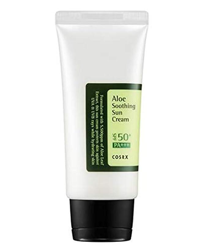 世論調査の間にもろいCOSRX Aloe Soothing Sun Cream (並行輸入品)