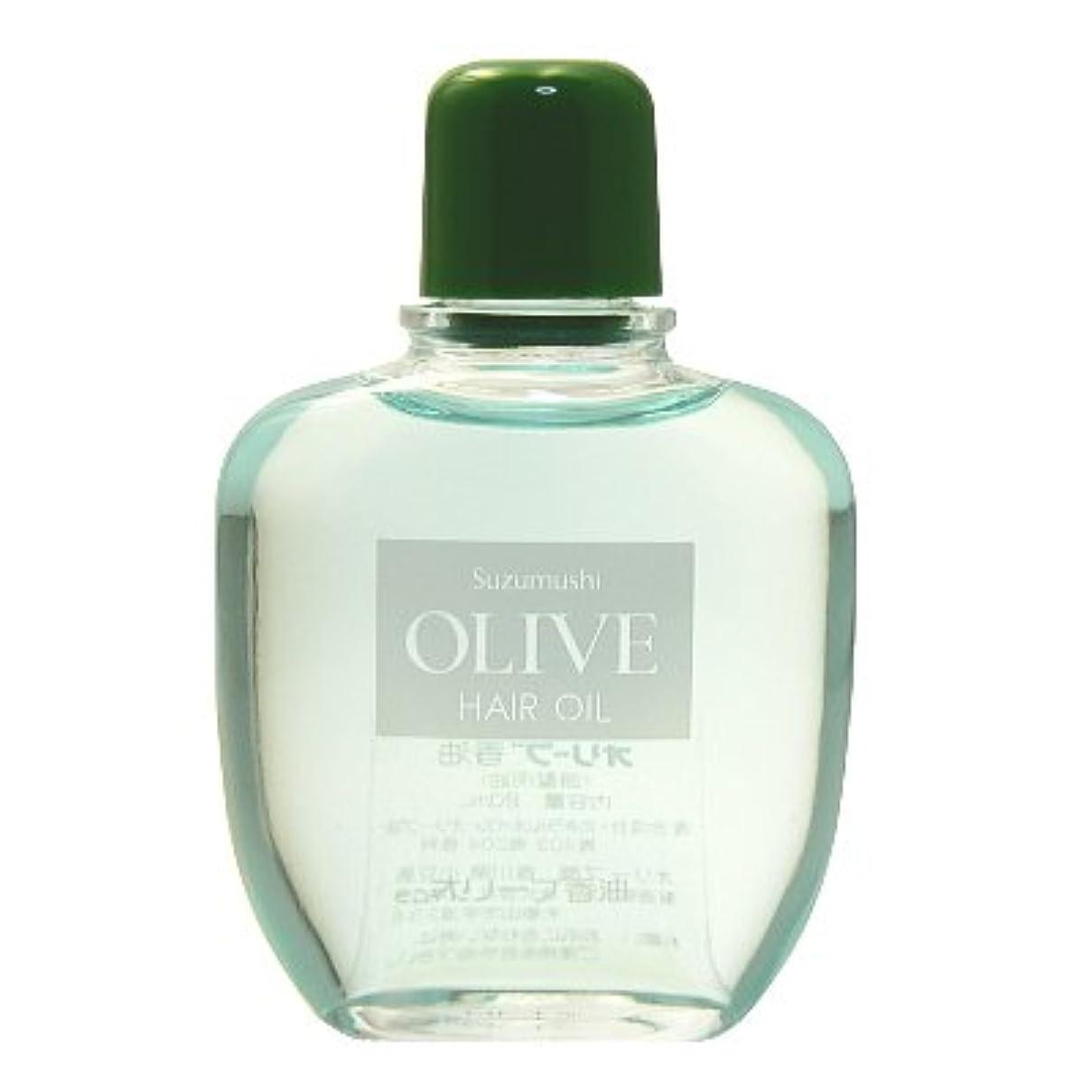 鈴虫化粧品 オリーブ香油(頭髪用油)80ml