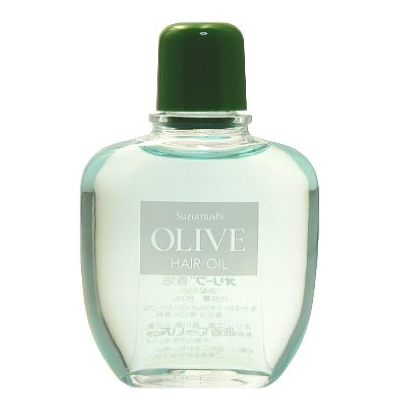 広告重量アスペクト鈴虫化粧品 オリーブ香油(頭髪用油)80ml
