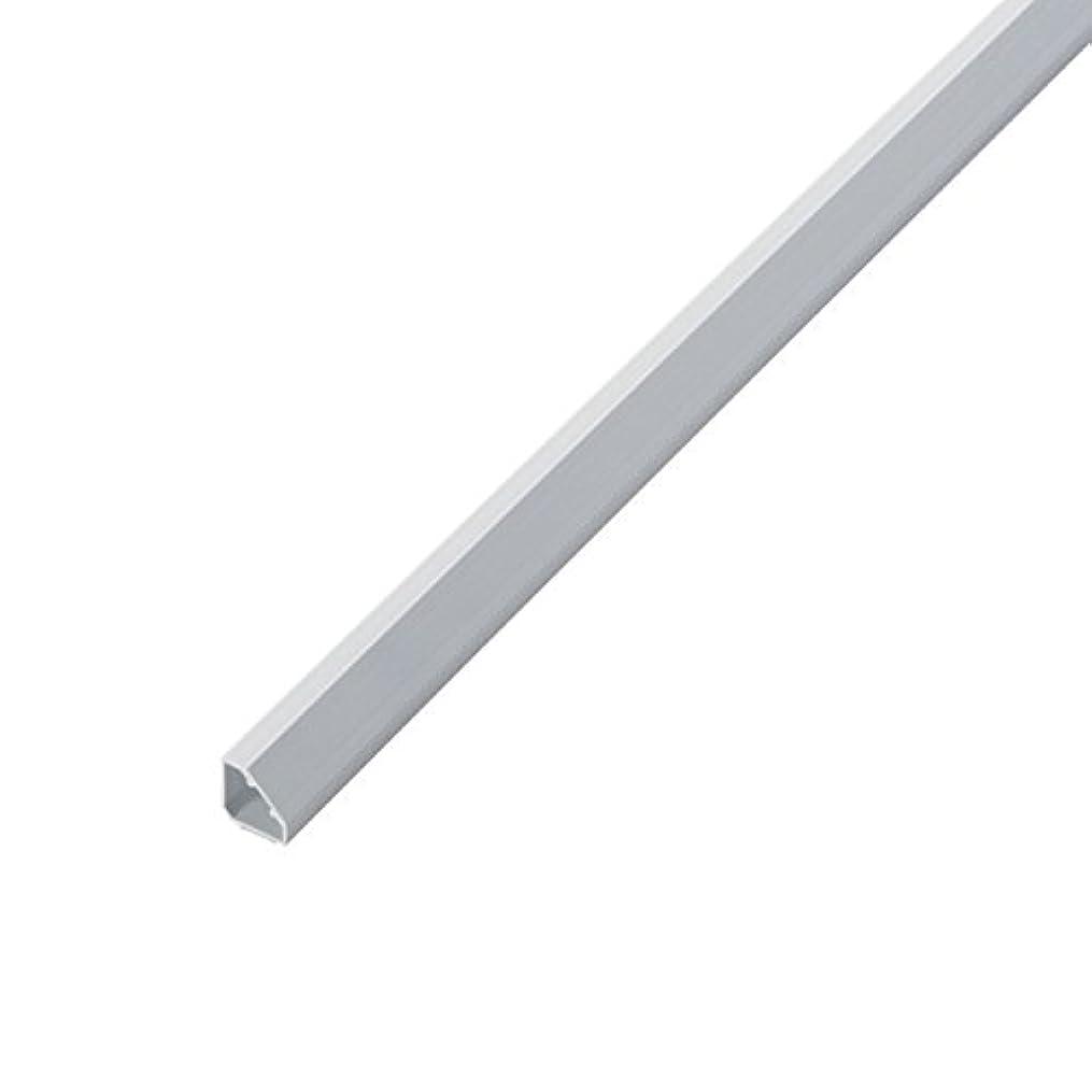 クローゼットバリケード涙エレコム コーナー用モール/ホワイト/幅19mm/1.0m LD-GAFC2/WH