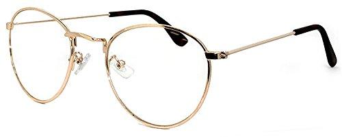 (PAGEBOY) ダテ眼鏡 UVカット クリアサングラス py6407( カラー 4 ピンクゴールド&デミブラウン )ページボーイ 伊達メガネ レディース メンズ ティアドロップ型 細フレーム メタル