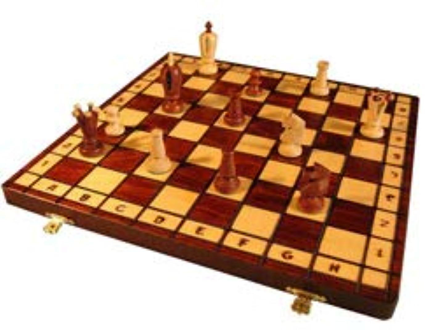 キルス確認する入るWegiel 木製チェスセット キング 36cm デーブルゲーム table game [並行輸入品]