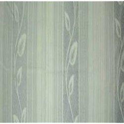 2枚組 ミラーレースカーテン マイリーフ(100×133cm/ホワイト)