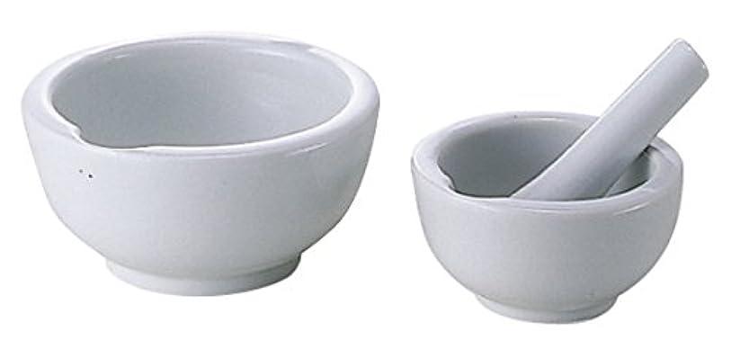 不健全ヘビ中央値乳鉢(瀬戸物)乳棒付 60MM 松吉医科器械 08-2660-01