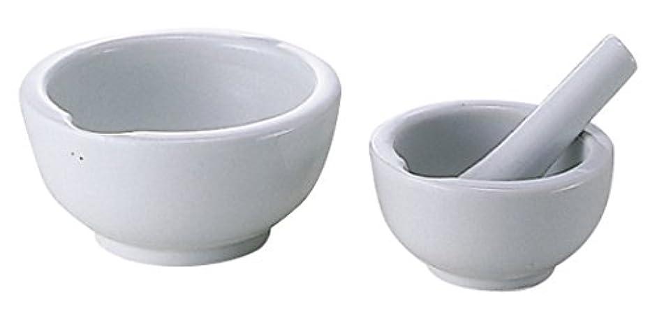 乳鉢(瀬戸物)乳棒付 90MM 松吉医科器械 08-2660-02