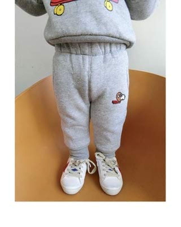 冬服 新しいデザイン 男児 韓国風 スウェットパンツ 赤ちゃん 裏起毛 カジュアルパンツ