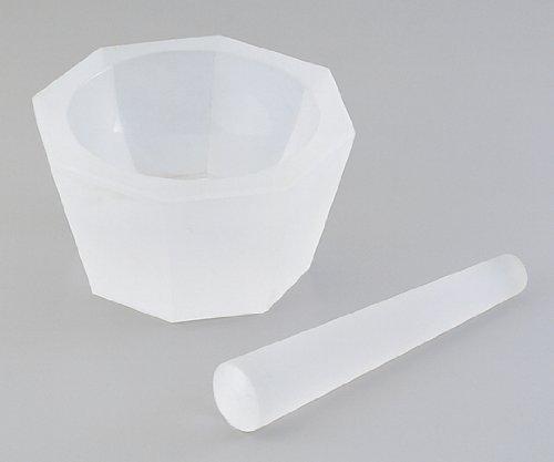 アズワン 石英ガラス製乳鉢 (乳棒付き) 1-4221-07
