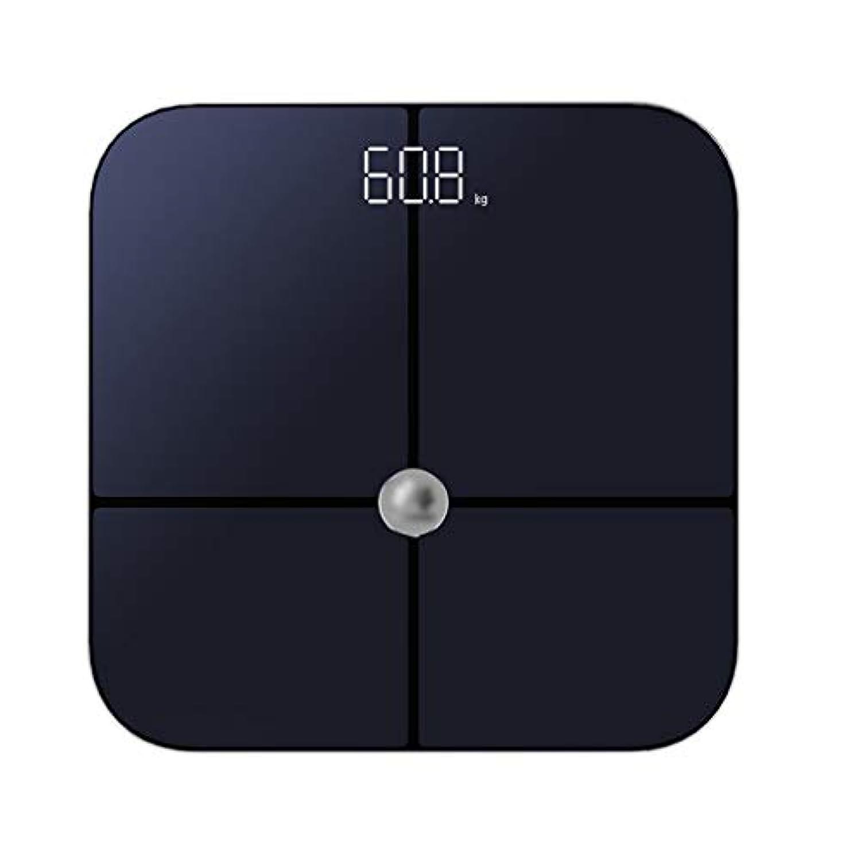 体重計インテリジェント体脂肪計正確な監視体重家庭用スポーツ健康電子体重計 QIQIDEDIAN