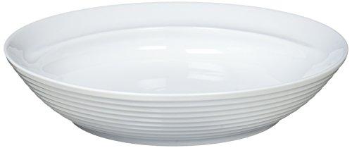 白山陶器 COMMO フリーディッシュ 白磁 (20.5cm皿)