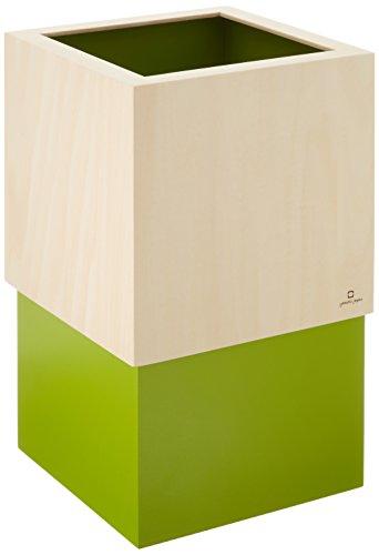 RoomClip商品情報 - ヤマト工芸 W CUBE ダストボックス DUSTBOX 黄緑色 YK06-012Lgr