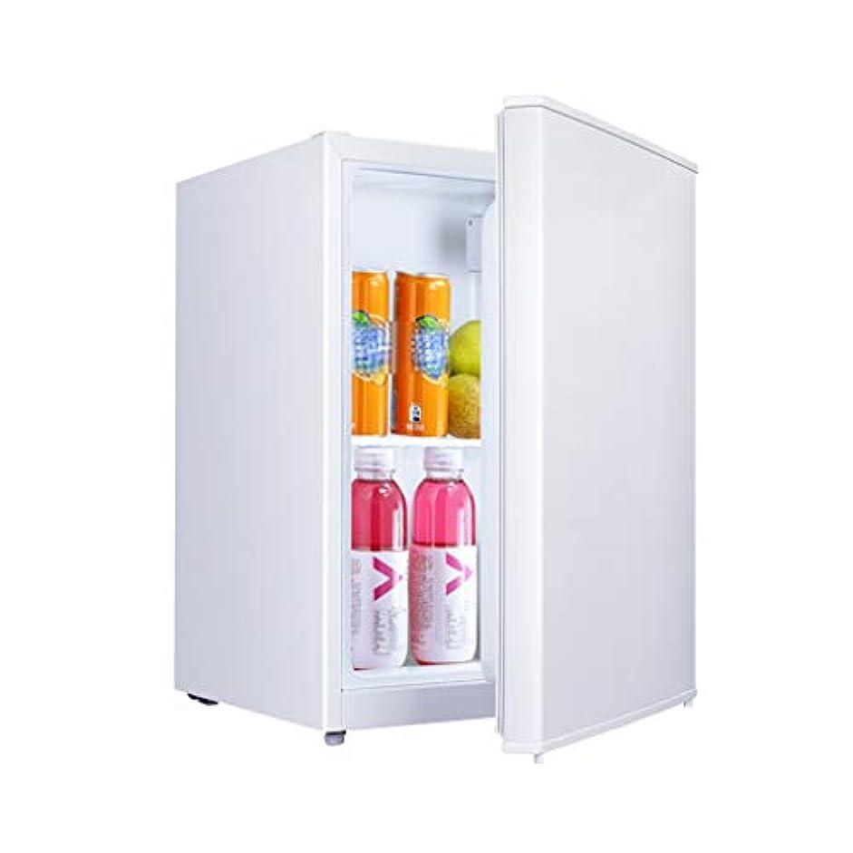 遮る圧縮されたコンパイルコンパクト冷蔵庫 シングルドア  55L  省エネ ミュート 自動温度調整 寮、家族、屋外、バー、バーベキューに適しています