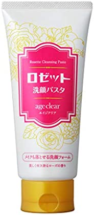Rosette Face Wash & Makeup Remover Pasta Age Clear, Blooming Rose, 150 g