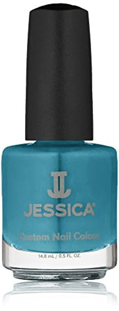 落ちた寛大さ人差し指Jessica Nail Lacquer - Faux Fur Blue - 15ml/0.5oz