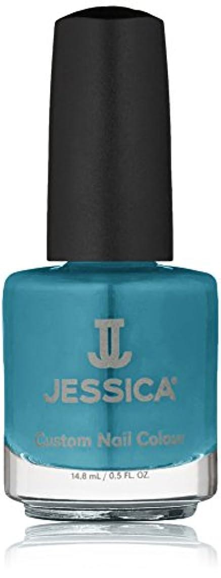 リンク堤防超音速Jessica Nail Lacquer - Faux Fur Blue - 15ml/0.5oz
