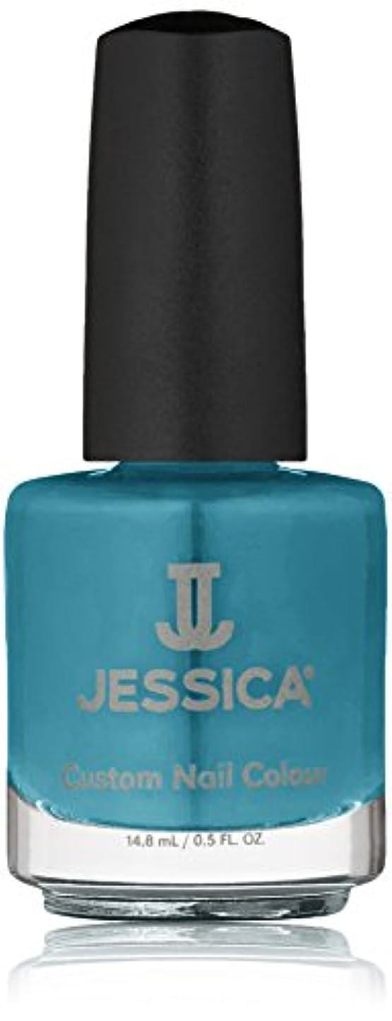 アンケート冒険服を洗うJessica Nail Lacquer - Faux Fur Blue - 15ml/0.5oz