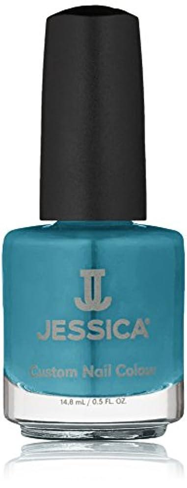 忌まわしいモード息苦しいJessica Nail Lacquer - Faux Fur Blue - 15ml / 0.5oz