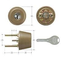 GOAL(ゴール) V18シリンダー TXタイプ 鍵 交換 取替え テール刻印34 GCY-240 TX/TDDアンバー色34~37mm(テール刻印34)