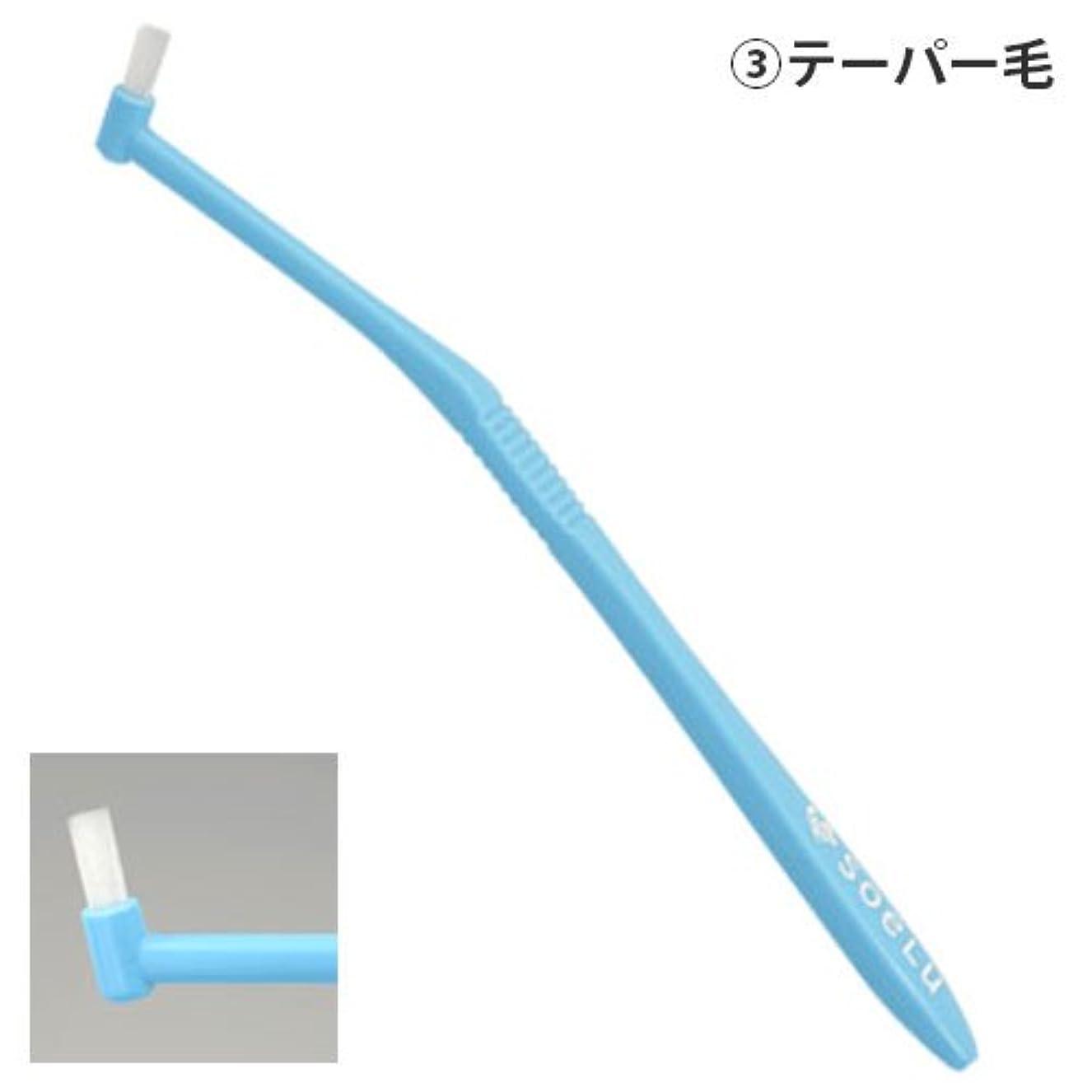 不均一である最少ソエル 歯ブラシ PLUS テーパー毛