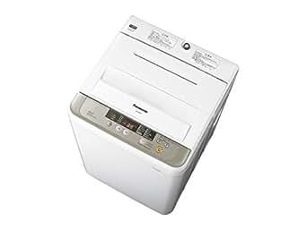 Panasonic 全自動洗濯機 6kg シャンパン NA-F60B8-N