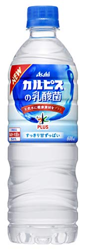カルピス おいしい水 プラス カルピスの乳酸菌 600ml×24本