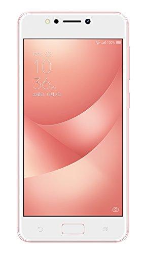 ASUS ZenFone4 MAX ZC520KL 【日本版】ピンク【正規代理店品】(オクタコア/3GB/32GB/トリプルスロット/DSDS/4,100mAh) ZC520KL-PK32S3/A