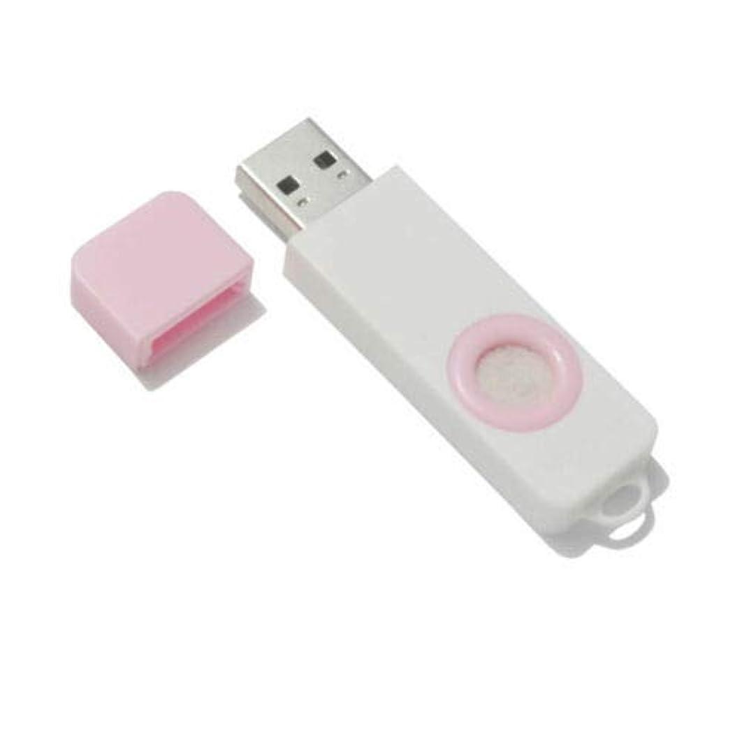 非アクティブ検出洪水FidgetGear Essential Oil Diffuser USB Port Air Freshener Office Home aromatherapy Pink