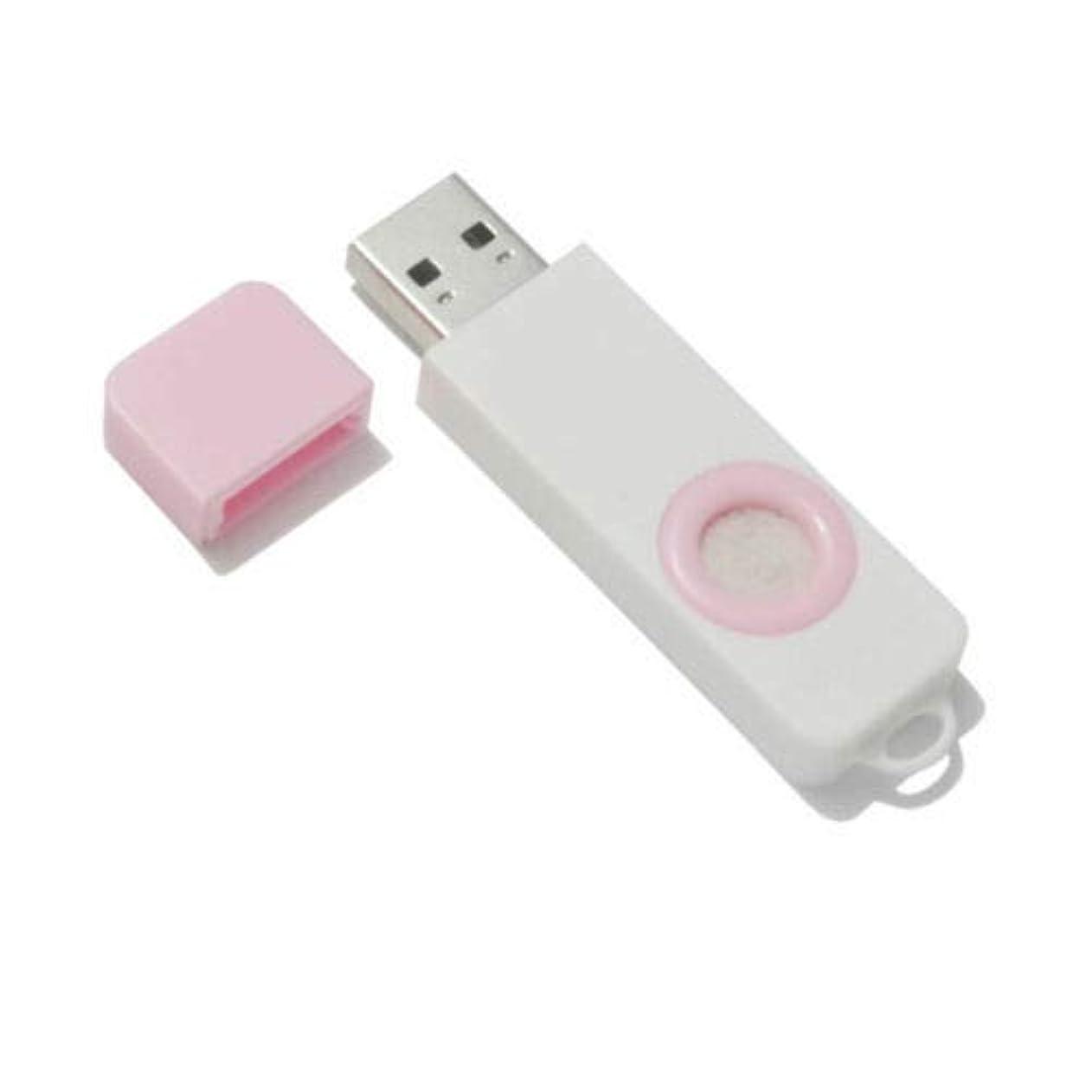 アイスクリームステンレス膨らませるFidgetGear Essential Oil Diffuser USB Port Air Freshener Office Home aromatherapy Pink