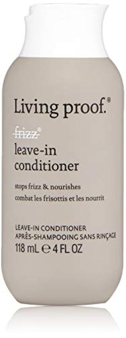 眠いです超音速有用Living ProofFrizz Leave-In Conditioner (For Dry or Damaged Hair)118ml/4oz[並行輸入品][海外直送品]