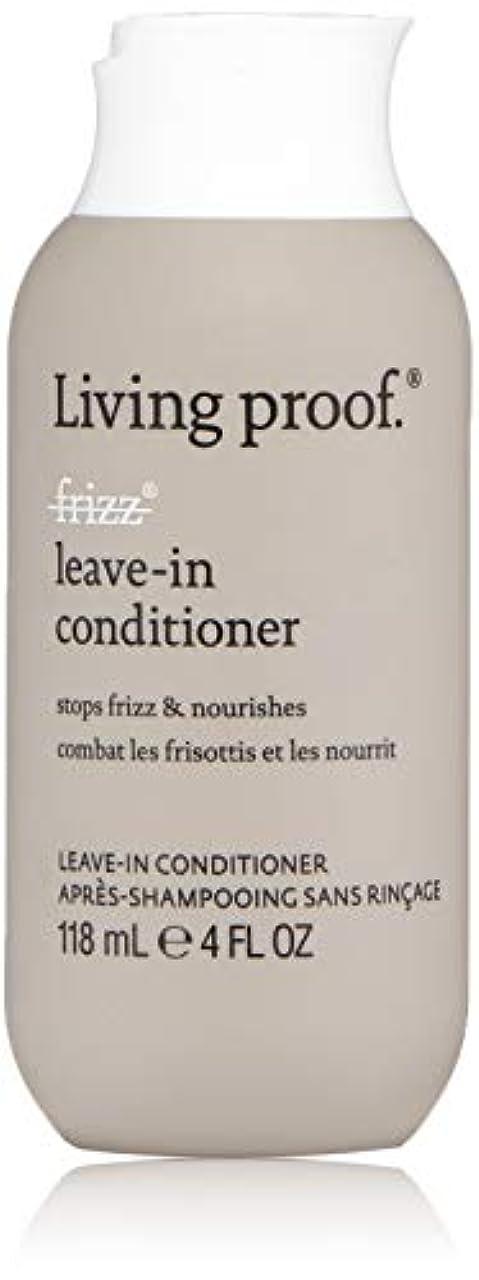 理由後退する適切にLiving ProofFrizz Leave-In Conditioner (For Dry or Damaged Hair)118ml/4oz[並行輸入品][海外直送品]