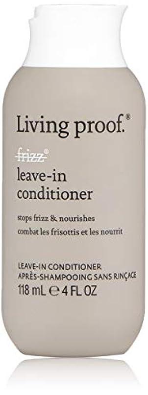 捨てる母音用語集Living ProofFrizz Leave-In Conditioner (For Dry or Damaged Hair)118ml/4oz[並行輸入品][海外直送品]