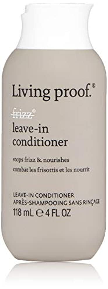 マージ感心する悪因子Living ProofFrizz Leave-In Conditioner (For Dry or Damaged Hair)118ml/4oz[並行輸入品][海外直送品]