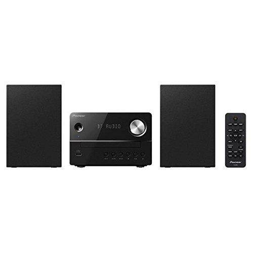 パイオニア Pioneer X-EM26 CDミニコンポ Bluetooth搭載/ワイドFM対応 ブラック X-EM26(B)