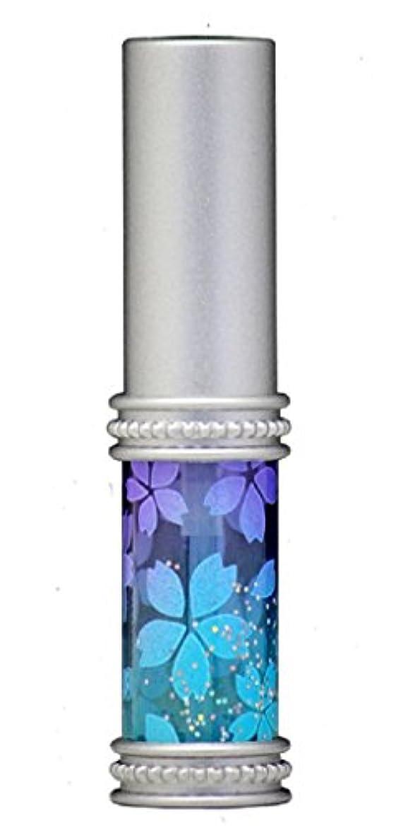 理容室カウントアップ部族ヒロセアトマイザー メタルラメさくらアトマイザー 16178 PU/BL(メタルラメさくら パープル/ブルー) 真鍮玉レット飾り付