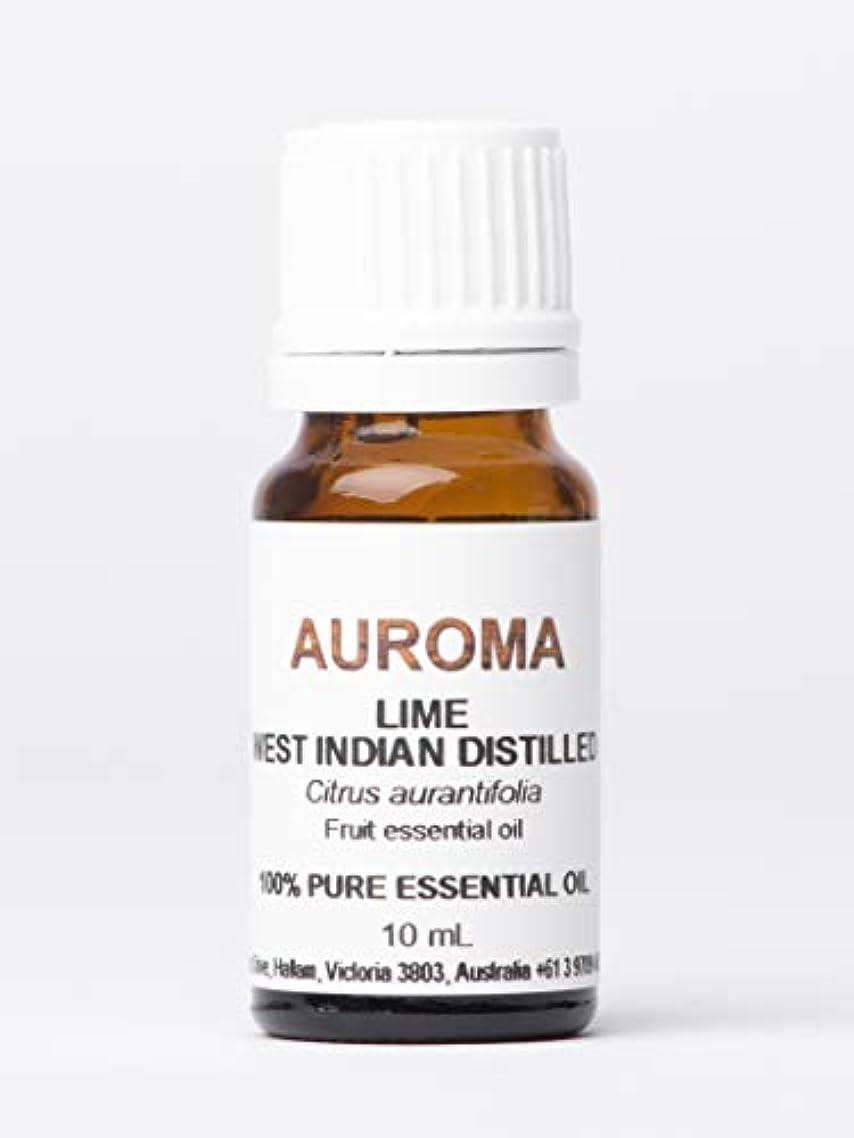 雄弁家エンコミウム動力学AUROMA ライムディスティル(光毒性成分なし) 10ml