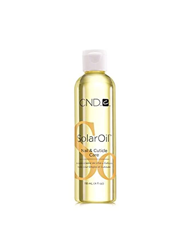 空いているループ耐えられるCND Cuticle Treatments - Solar Oil - 4oz / 118ml