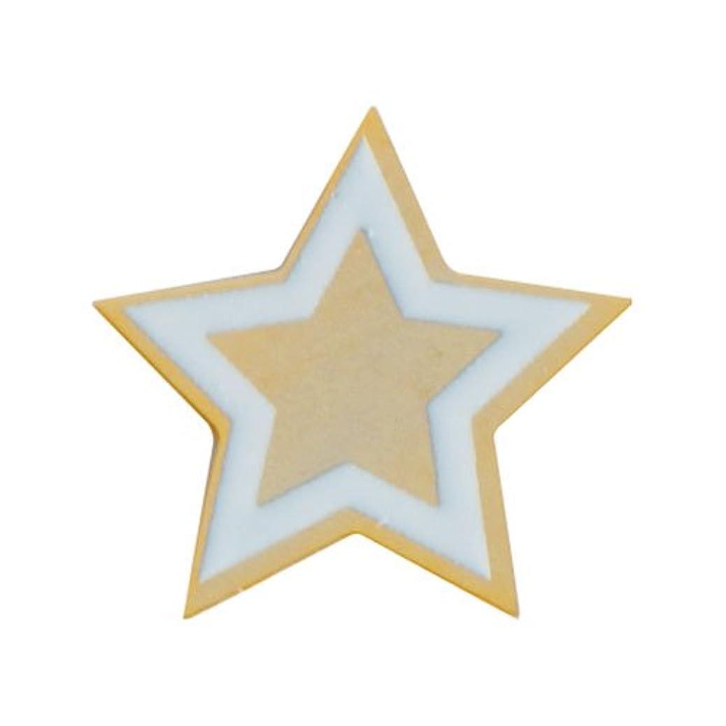 思慮深いスマート愛撫リトルプリティー ネイルアートパーツ PWツインクルスター S ゴールド 10個