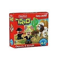 Fisher-Price Trio Deputy & Bandit [並行輸入品]