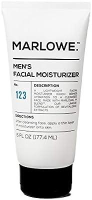 MARLOWE. No. 123 Men's Facial Moisturiser 177ml | Lightweight Daily Face Lotion for Men
