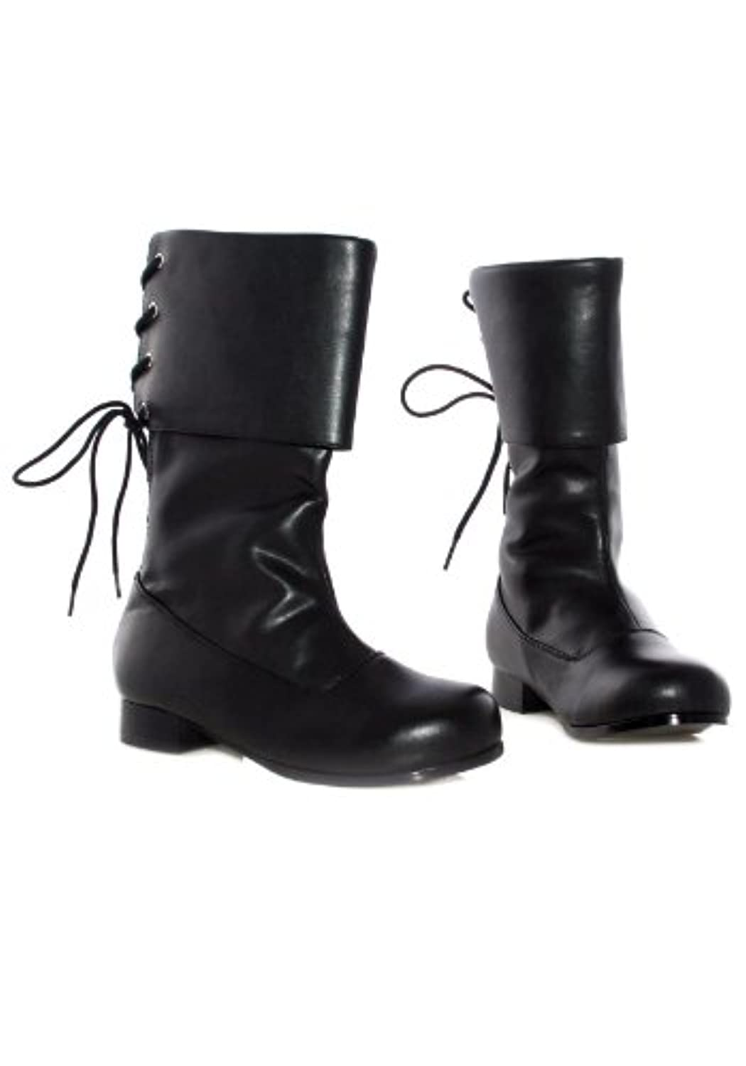 Ellie Shoes PL3409BK-S Black Buccaneer Boot Child SMALL