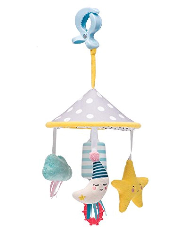 Taf Toys Mini Moon PramモバイルPlayセット| Fits pram &ベビーカー、赤ちゃんのエンターテイメントon the Go , Hanging Toys to keepベビーHappy、最適な用途new-born、簡単、屋外、ベストギフト