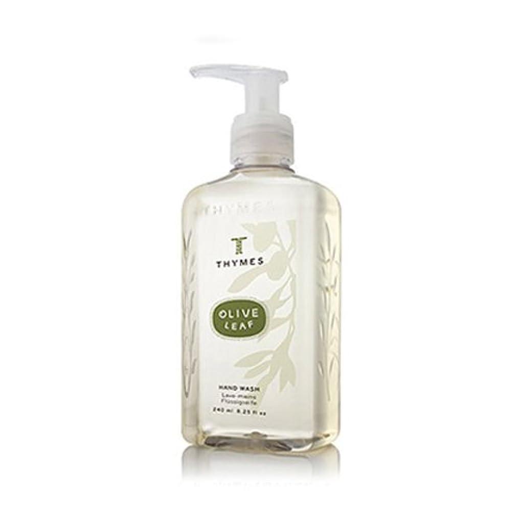 ネーピアも最大限THYMES タイムズ ハンドウォッシュ 240ml オリーブリーフ Hand Wash 8.25 fl oz Olive Leaf [並行輸入品]