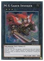 遊英語 黒 M-X-Saber Invoker(S)(1st)(M.X-セイバーインヴォーカー)BLLR