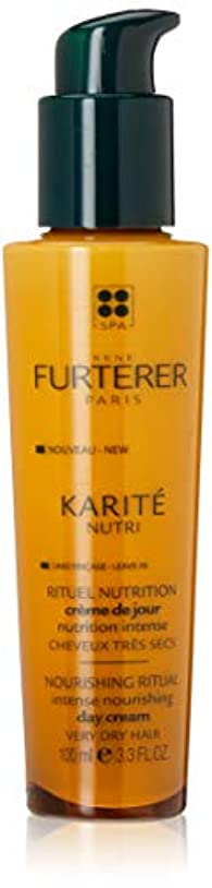 呼ぶテクスチャー論理ルネ フルトレール Karite Nutri Nourishing Ritual Intense Nourishing Day Cream (Very Dry Hair) 100ml/3.3oz並行輸入品