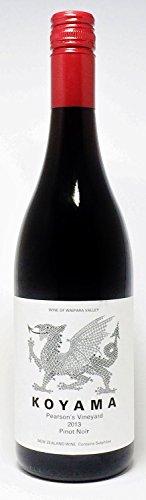 コヤマワインズ ピアソンズ・ヴィンヤード・ピノ・ノワール 2014 Koyama Wines Pearson's Vineyard Pinot Noir 2014 ( ニュージーランド New Zealand wine 赤ワイン・辛口・750m ) コヤマワインズ Koyama Wines