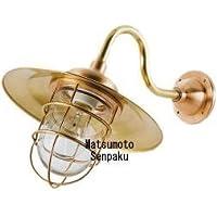 松本船舶電機 マリンランプ ポーチライトシリーズ R2S号アクアライト ゴールド R2S-AQ-G 【LEDランプ装着モデル】【屋外屋内兼用】