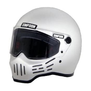 SIMPSON(シンプソン) バイクヘルメット フルフェイス Model30 ホワイト 60cm